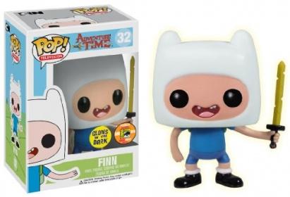 Adventure Time Pop! Vinyl: Finn with Sword Glow in the Dark (SDCC Exclusive)