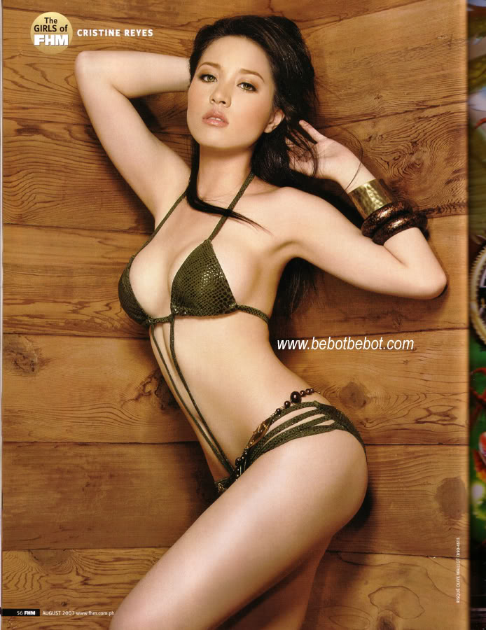Sexy cristine reyes bikini something