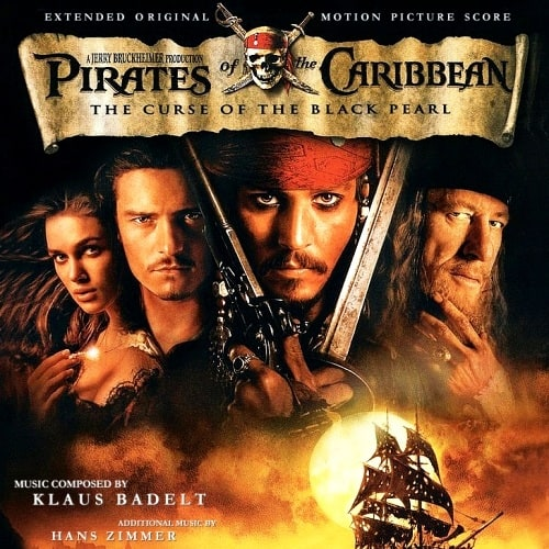 「pirates of the caribbean curse of the black pearl soundtrack」的圖片搜尋結果
