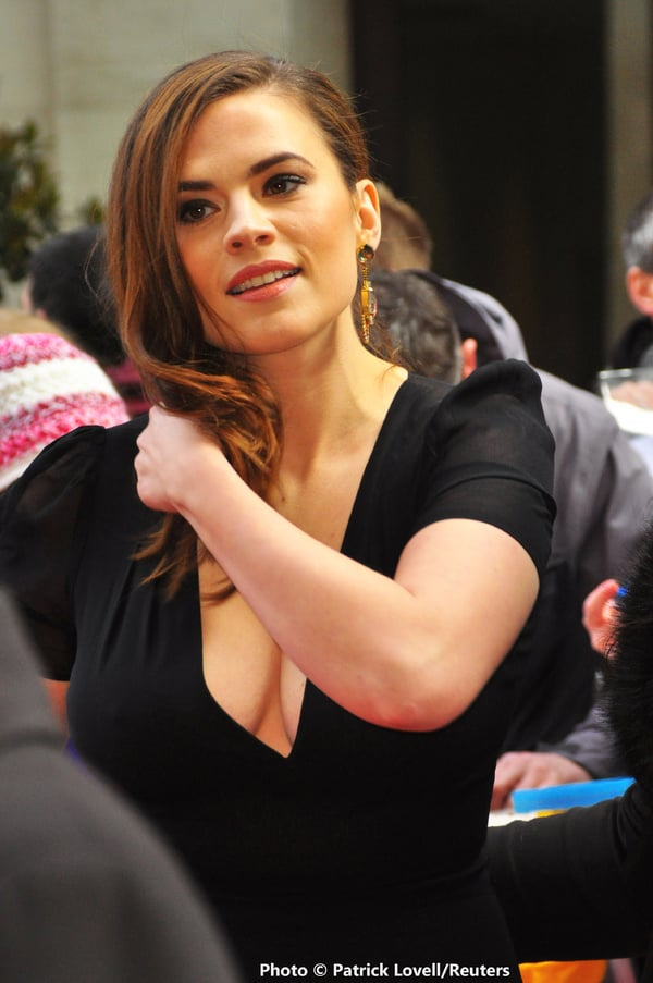 Hayley atwell x empire film awards 2015