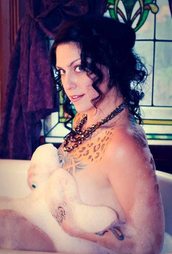 danielle colby nude sexy tattoo