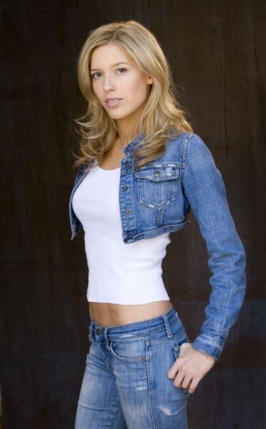 actrice Alicia Vela-Bailey - Redactionele stockfoto © s