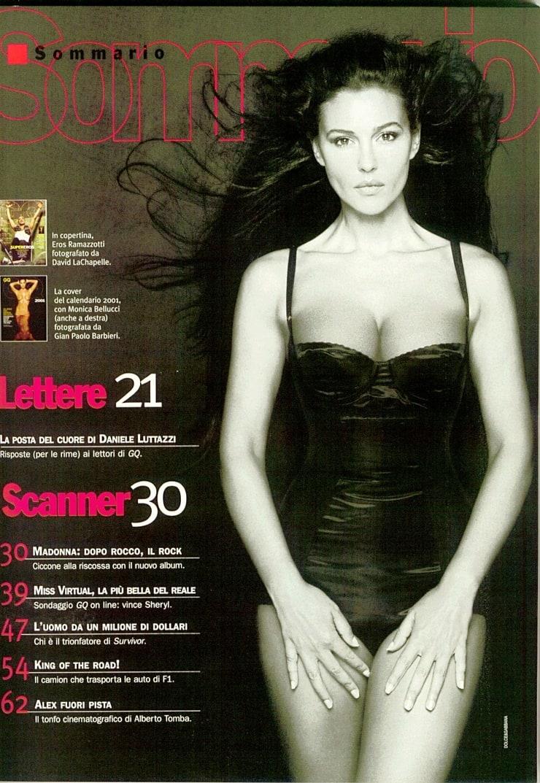 Bellucci Calendario.Picture Of Monica Bellucci