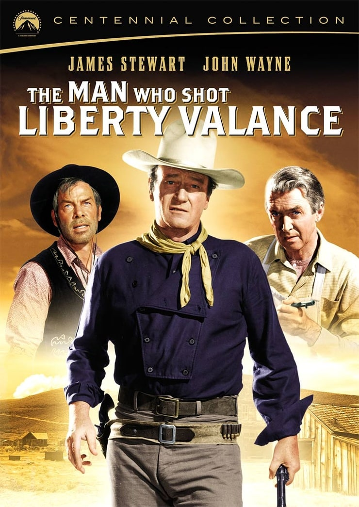 the inspiration and political aspects of the western film the man who shot liberty valance Wayne did this scene so well that ford used an abbreviated version of it in the man who shot liberty valance  film was an inspiration in  man and western.