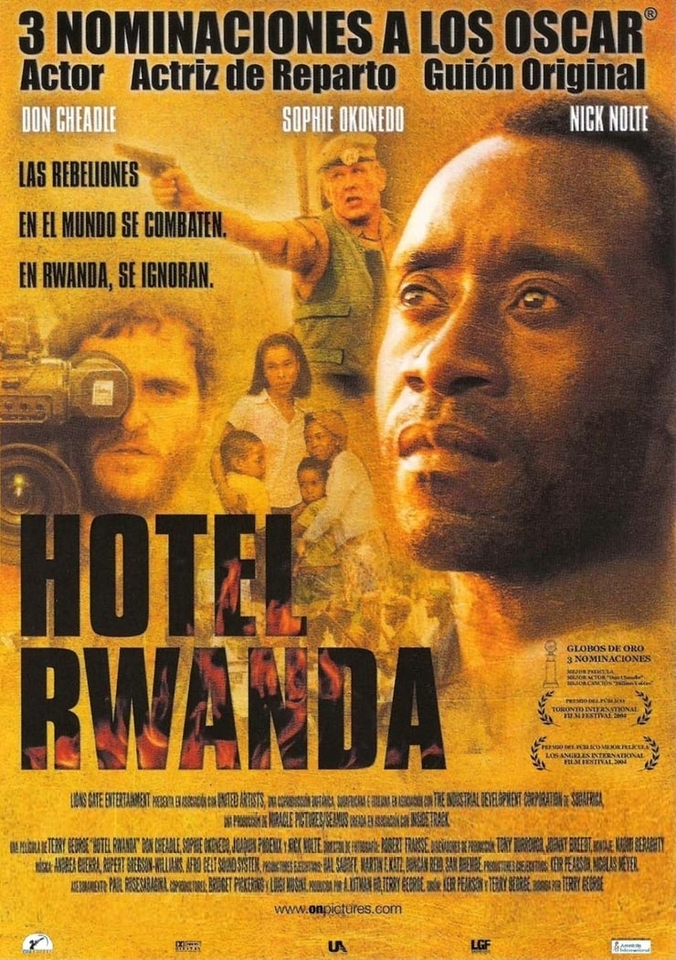 Hotel rwanda movie review essay