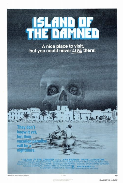 island of the damned book report