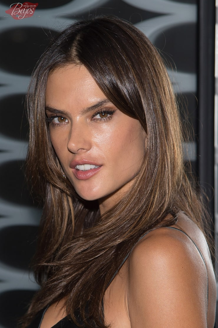 Alessandra Ambrosio Dark Hair Color