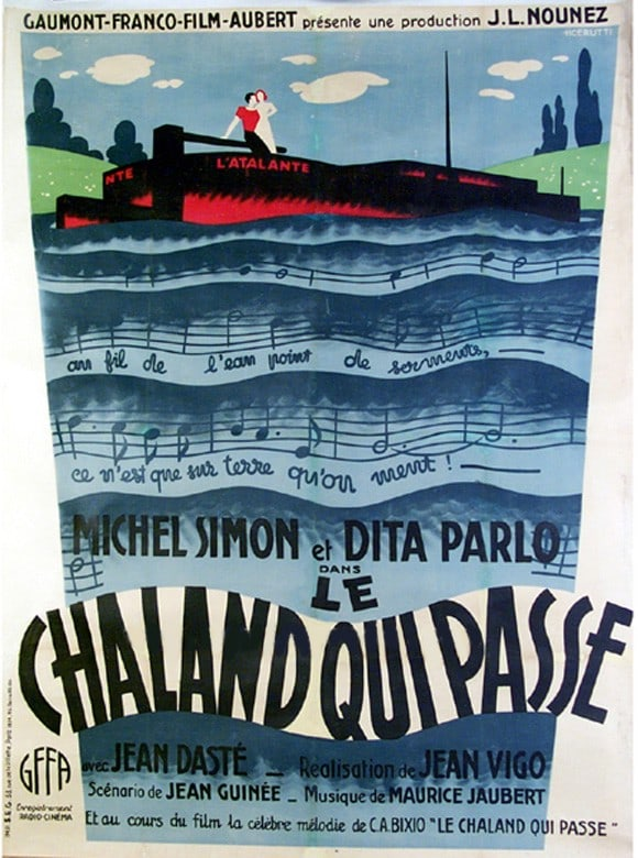 Atalante, L' 27 x 40 Movie Poster - French Style A