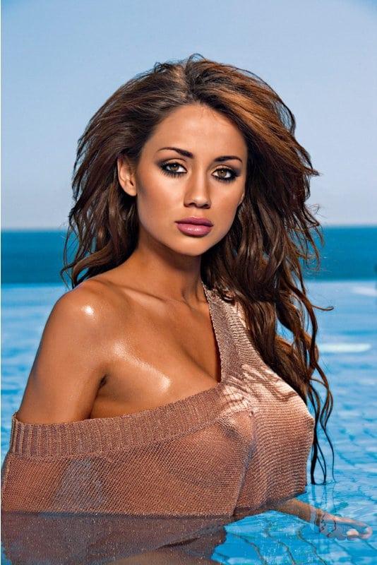 Krystal Forscutt nackt, Oben ohne Bilder, Playboy Fotos