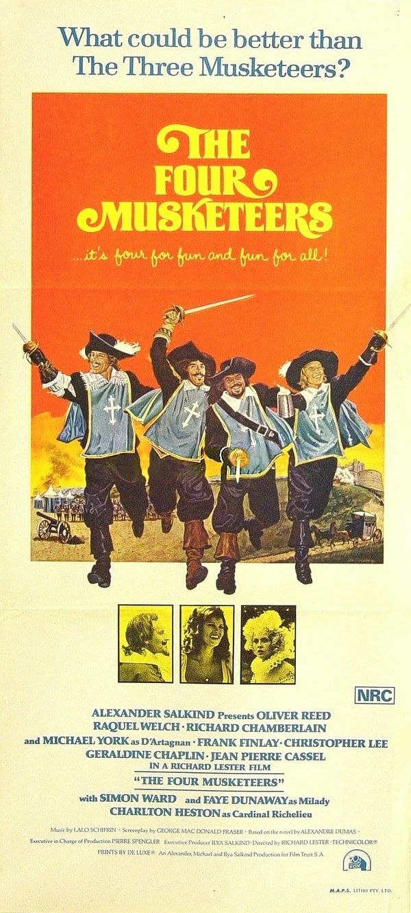 The Four Musketeers has been added to these listsThe Four Musketeers 1974