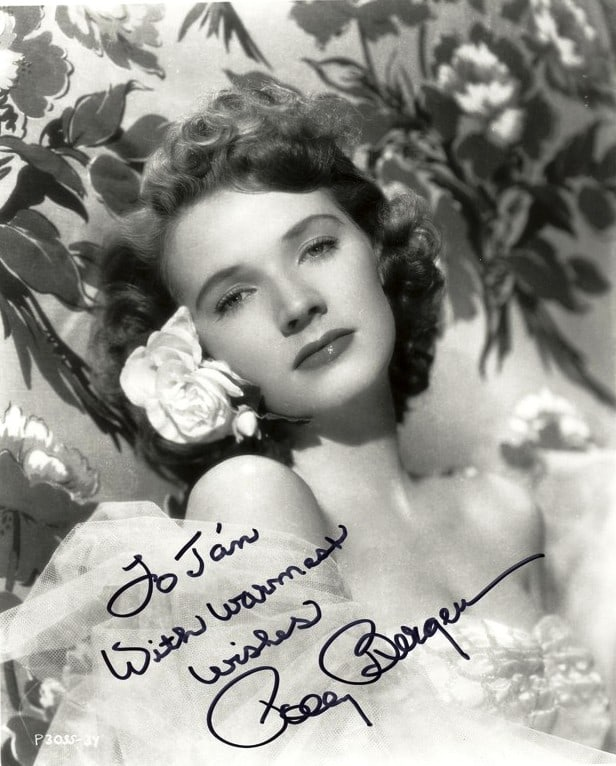 polly bergen young