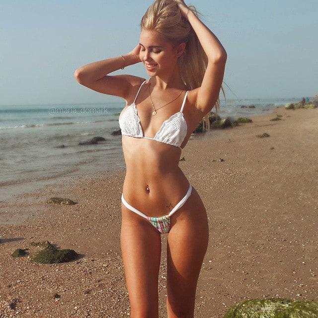 hot girls at water park