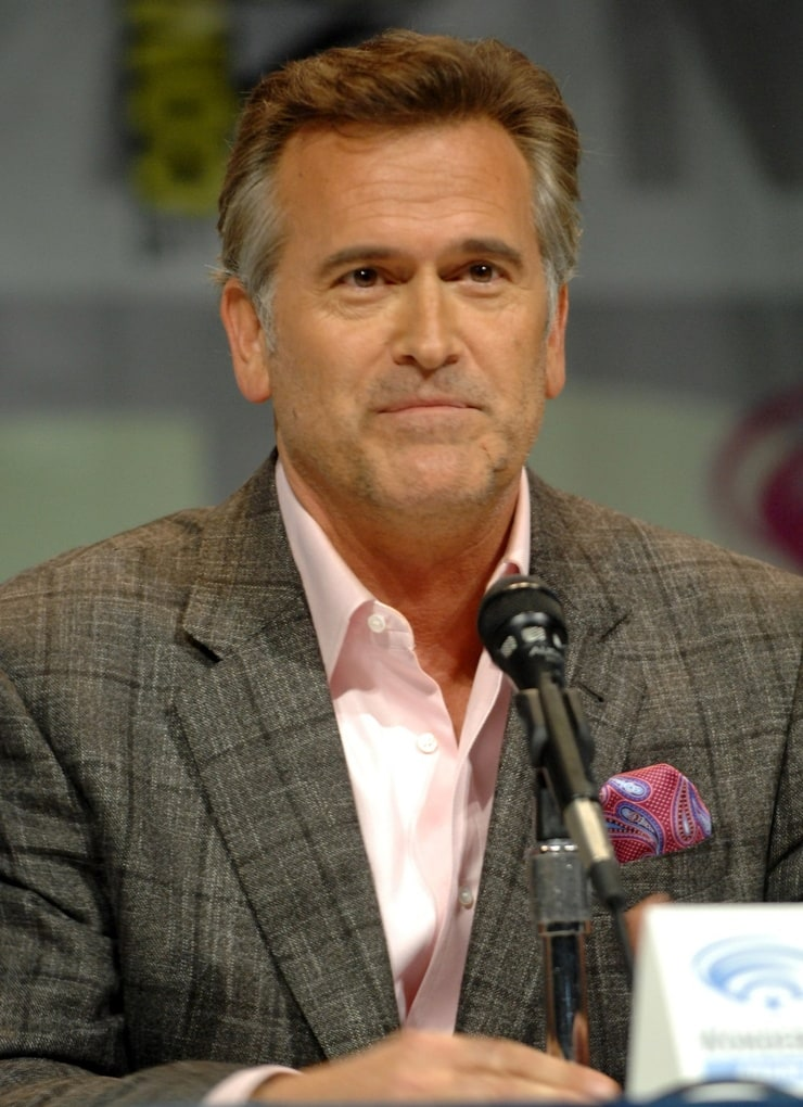 an analysis of bruce campbell as an accomplished actor Stepping back, you step tenderly, cause you'll blow your knee otherwise, actor tells thewrap of the starz reboot.