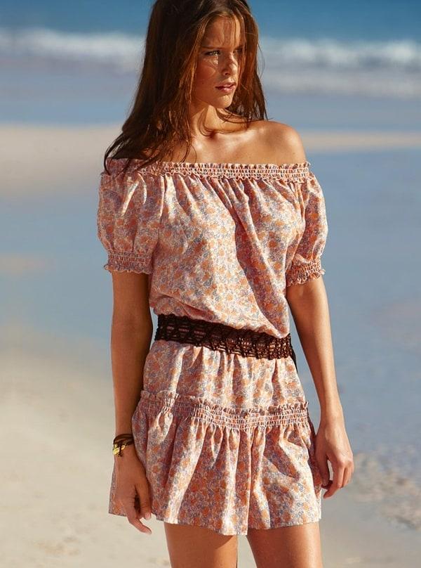 Платья в деревенском стиле фото
