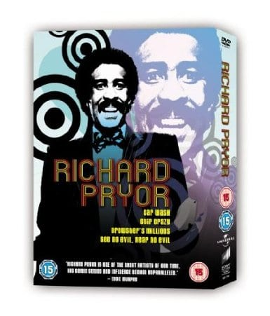 Richard Pryor Film Collection: Car Wash/Stir Crazy/Brewsters Millions/Hear No Evil See No Evil
